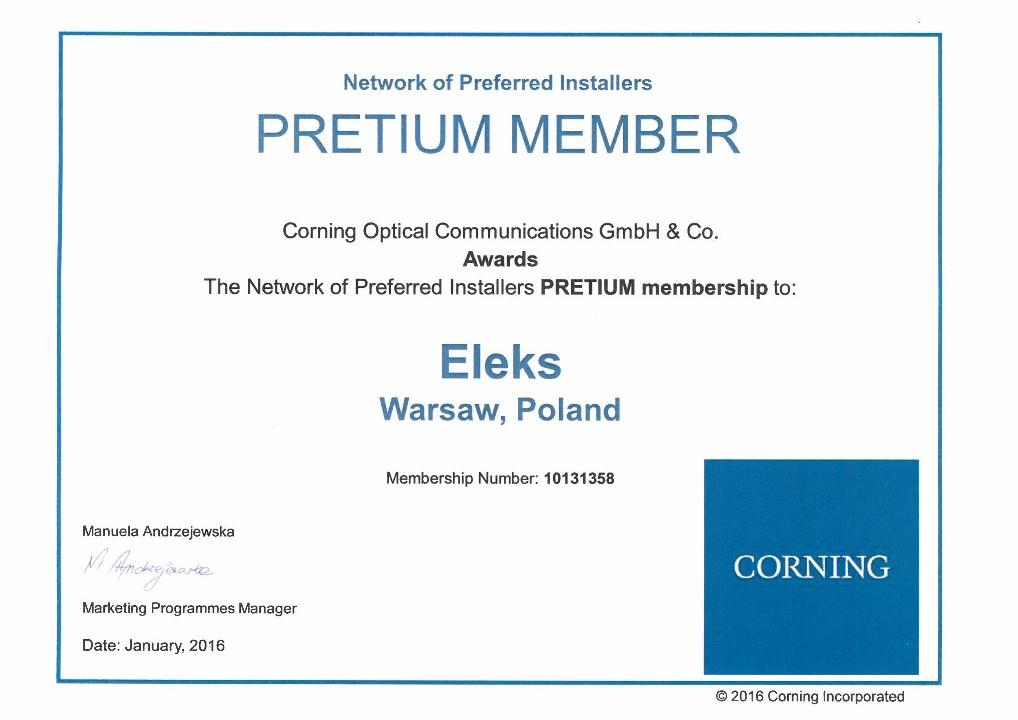 Certificates - Eleks